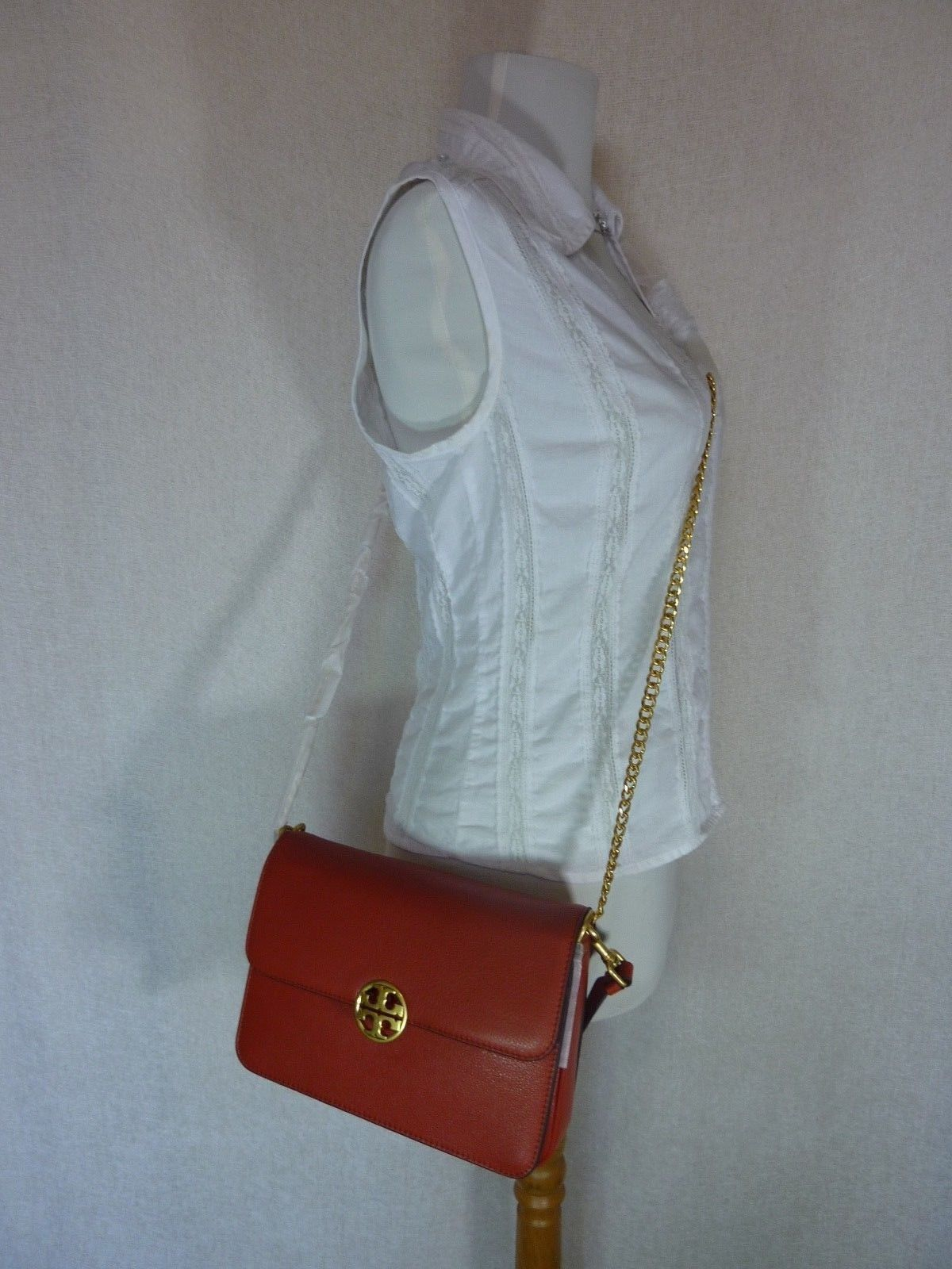 NWT Tory Burch Kola Chelsea Convertible Shoulder Bag  - $498 image 3