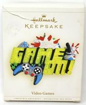 Hallmark Keepsake Video Games 2006 Christmas Ornament Game On NEW with M... - $9.95