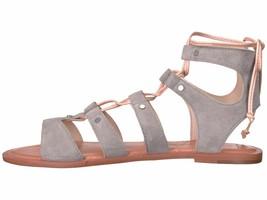 Dolce Vita Jasmyn Grey Women's Lace Up Suede Gladiator Sandal - $76.95