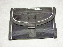 Nintendo DS: Black Wallet Shaped Carrying Case - $8.00