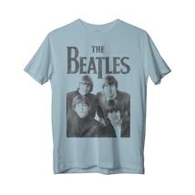 The Beatles Group Photo - Womens Blue T-Shirt - $52.00