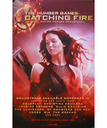 HUNGER GAMES CATCHING FIRE SOUNDTRACK POSTER  (J6) - $8.59