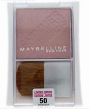 Maybelline Pressed Powder Blush Delicate Pink NY Expert Wear full size 50 light - $7.99