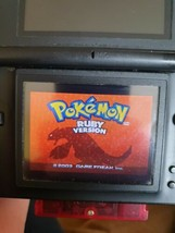 Pokemon: Ruby Version (Nintendo Game Boy Advance, 2003) New battery fitted  - $9.25