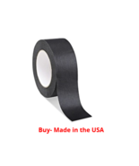 """1 Roll Marcy No Residue Black Masking Tape 1.5"""" x 60 yds (36mm x 180') - $10.84"""