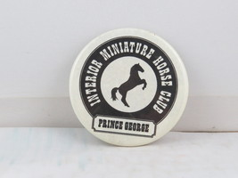 Vintage Horse Pin - Interior Miniature Horse Club Prince George - Cellul... - $15.00