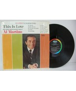 AL MARTINO - THIS IS LOVE LP Record  ST2592 CAPITOL Label Shrink Mint - - $4.84