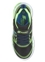 Skechers S Sport Flinn Boys Black Green Light Up Lights Sneaker Shoes image 3