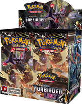 Forbidden Light Booster Box Sealed 36 Booster Packs POKEMON TCG Sun & Moon - $104.99