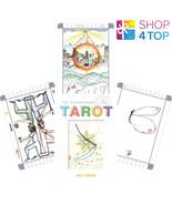 THE TRANSPARENT TAROT CARDS DECK BOOK SCHIFFER PUBLISHING EMILY CARDING NEW - $82.46