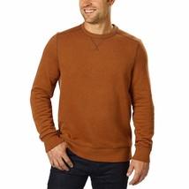 G.H. Bass & Co. Men's Crew Neck Fleece Sweatshirt Sweater Blue Green Brown NWT image 2