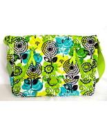 Vera Bradley Messenger Bag Crossbody - Lime's U... - $65.00