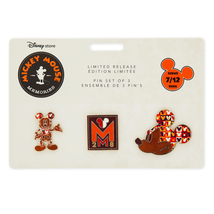 Disney Store 30th Anniversary Limited Release Pin Set - Week 10 of 10 2017 NEW - $39.99