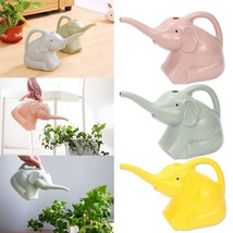 Plastic Watering Can Elephant Design Shape Pot Jug Home Garden Waterer T... - $10.95