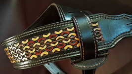 The 3 inch Master Weave Guitar Strap - $169.00