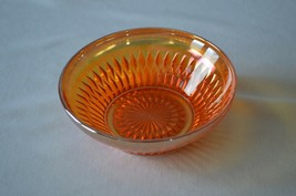 Jeannette Glass Anniversary Iridescent Fruit Bowl - $7.92
