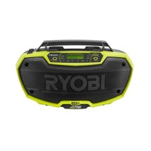 Hybrid Stereo 18-Volt Lithium Ion Bluetooth Speakers Amplifiers Multi Mo... - $95.59