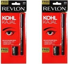 2 x Revlon Classic Eye Liner Pencil - Black 11 by GIFTSBUYINDIA - $30.45