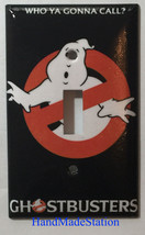 Ghostbusters Who Ya Gonna Call Light Switch Outlet wall Cover Plate Home decor