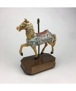 A Summit Collection Exclusive Carousel Horse Musical Love Story Song Vtg... - $25.23