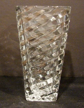 Contemporary Mikasa Angles Rectangular 7 Inch Vase - $6.99