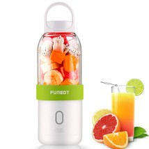 FUNBOT USB Juicer Cup Portable Blender 500ml Personal Size Eletric Recha... - $25.02