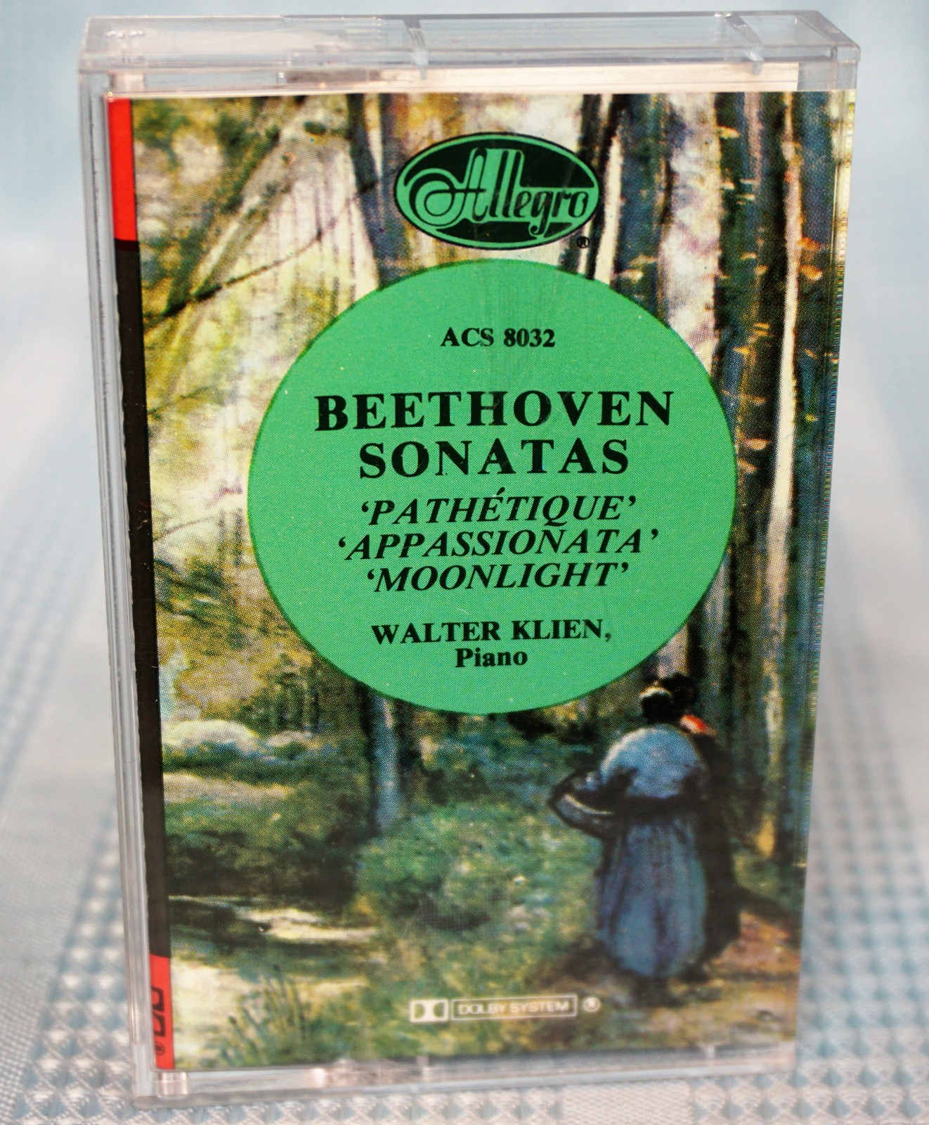 Primary image for Beethoven - Sonatas Pathetique Appassionata Moonlight Cassette Tape