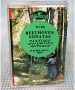 Beethoven - Sonatas Pathetique Appassionata Moonlight Cassette Tape - $6.38