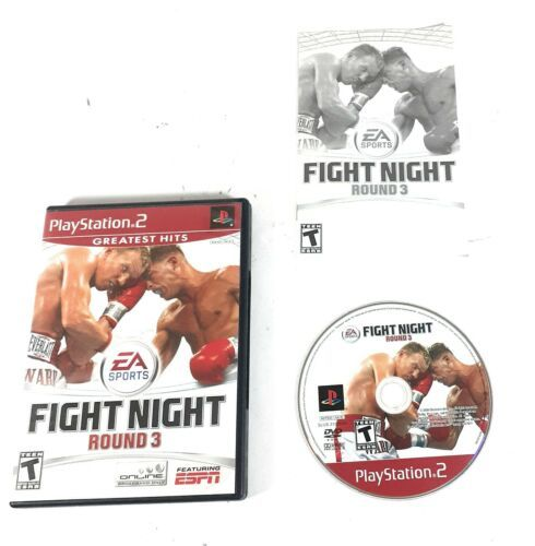 Fight Night Round 3 (Sony Playstation 2 PS2) Complete - $12.61