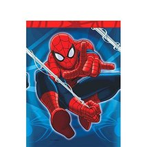 "Amscan Spidey-Cool Spider-Man Birthday Party Table Cover, 54"" x 96"", Red... - $4.99"