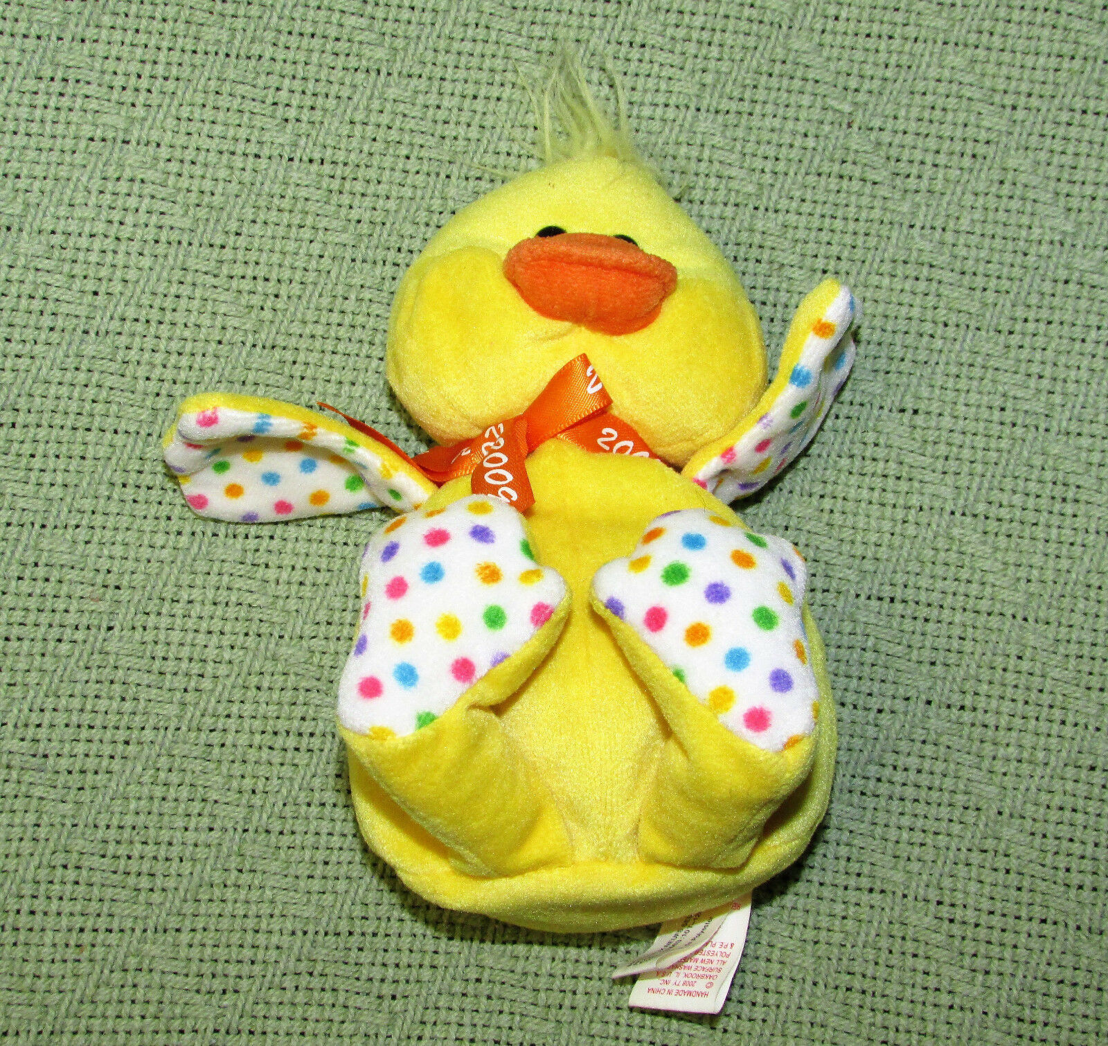 Easter CHICK Duck LOT YELLOW Plush Stuffed Suzy Spafford Mary Meyer Vtg GIBSON +