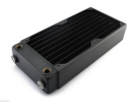 XSPC RX240 V3 Radiator for 2 x 120mm Cooling Fans (New Version 3) Liquid... - $74.20