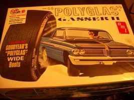 Rare Sealed Amt 'polyglas' 1962 Pontiac With Many Great Features Model Kit Car - $25.74