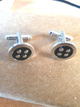 button  design,  cufflinks great and unusual gift ,  in gift box