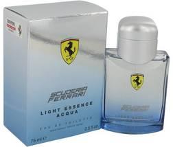 Ferrari Scuderia Light Essence Acqua Cologne 2.5 Oz Eau De Toilette Spray image 5