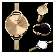 Women's Watch Quartz Stainless Steel Wrist Watch Bracelet                    B12
