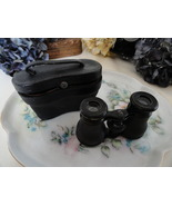 Lemaire Fabt Paris Antique Theater Opera Glasses Binoculars & Black Leat... - $35.00