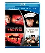 Two-Movie Collection: Firefox / Heartbreak Ridge [Blu-ray]