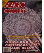Magic Crochet Patterns Magazine Christmas Gifts Afghans etc - $5.99