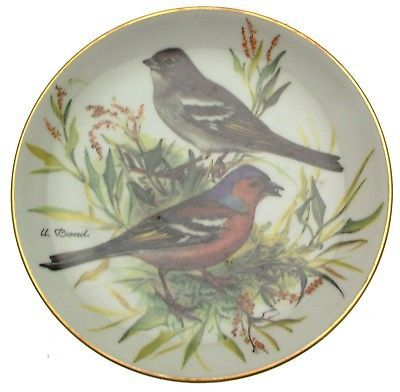 Buchfink Ursula Band Europaische Singvogel Songbirds of Europe Plates Chaffinch