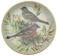Buchfink Ursula Band Europaische Singvogel Songbirds of Europe Plates Ch... - $35.86