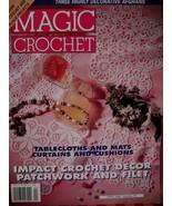 Magic Crochet Patterns Magazine Irish Tablecloths Mats etc - $5.99