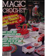 Magic Crochet Patterns Magazine Childs Winterwear Xmas etc - $5.99