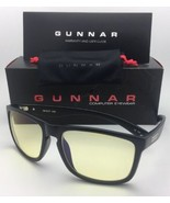 New GUNNAR Computer Glasses INTERCEPT 58-17 135 Onyx Black Frame w/ Ambe... - $69.95