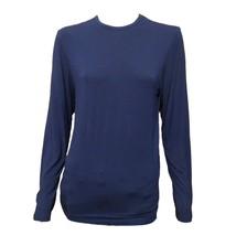 Polo Ralph Lauren Womens Blue Long Sleeve Crew Neck Casual Top Shirt M - £11.91 GBP