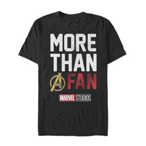 Marvel More Than a Fan Mens Graphic T Shirt - $10.99