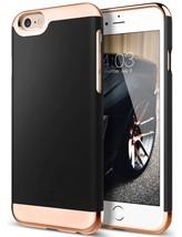 iPhone 6 / 6s Plus Slim Premium Luxury Protective Two Piece Removable Bl... - $14.97