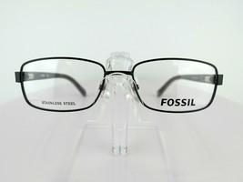 Fossil FOS 6036 (HG1) Matt Black 52 X 16 140 mm Eyeglass Frames - $47.96