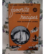 Vintage 1958 Game and Fish Cookbook Recipes Hunting Fishing Cooking Outd... - $7.95