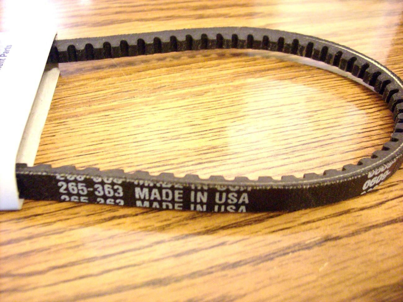 Snapper self propelled drive belt 050464 / 1-2353 / 7012353